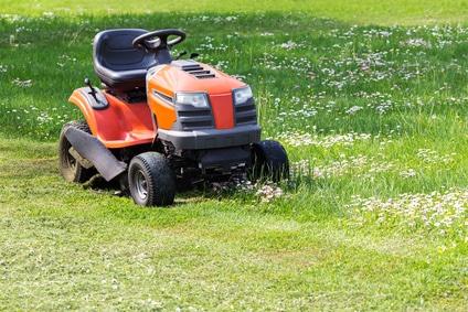 Finansiering af græsslåmaskine